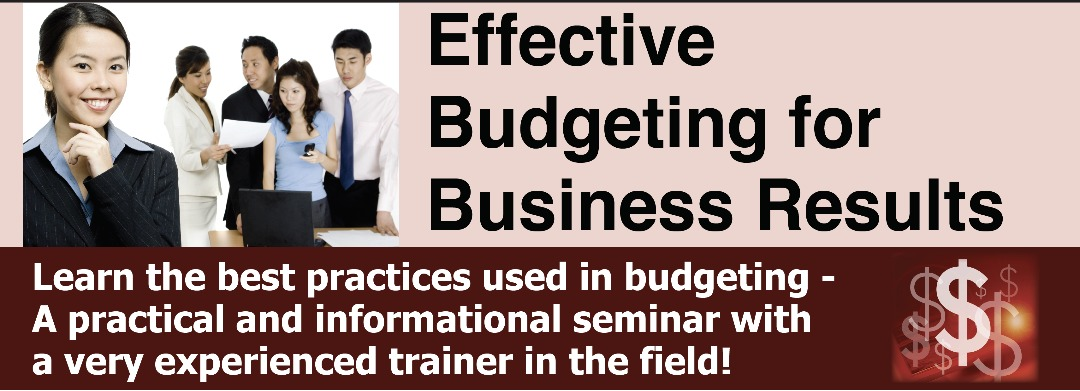 Effective Budgeting for Business Results