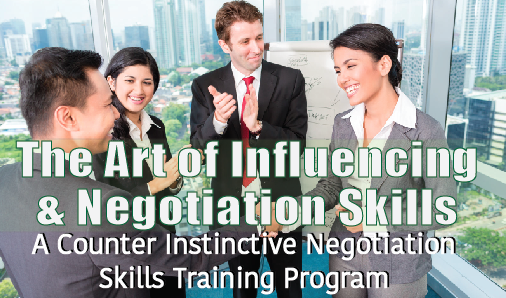 The Arts of Influencing & Negotiation Skills