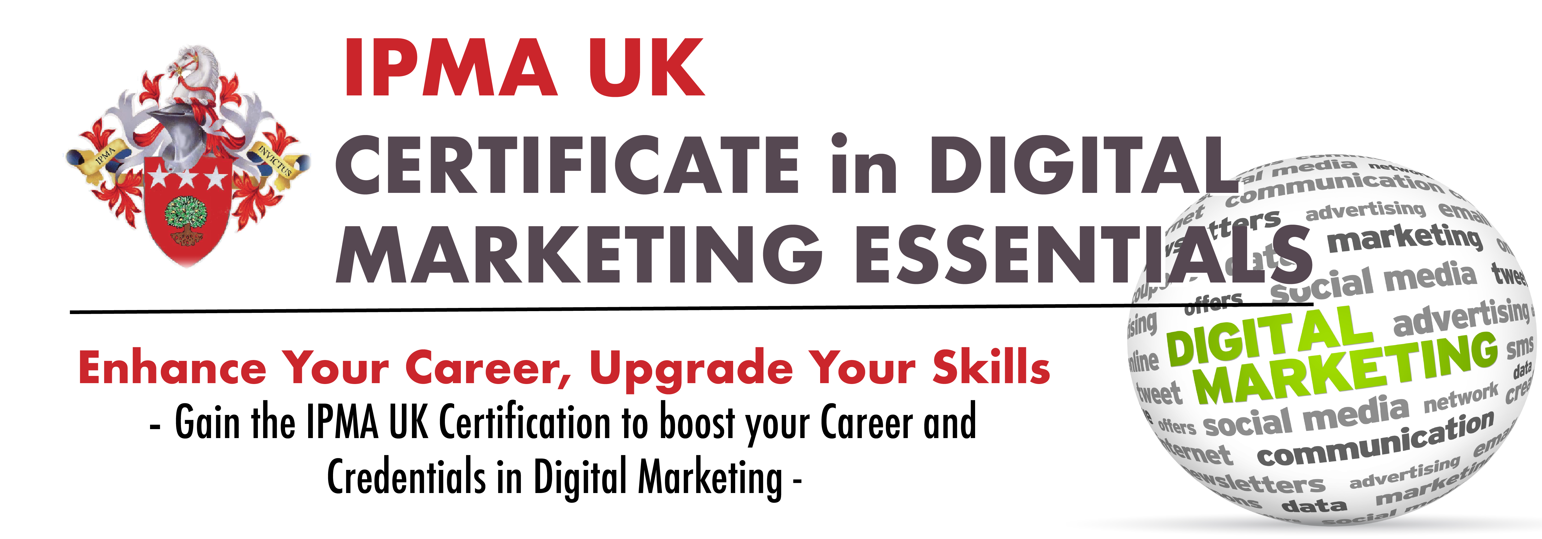 IPMA UK Certificate in Digital Marketing Essentials